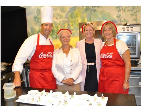Claudia Allemeersch was met haar mama te gast bij Comme Chez Soi.