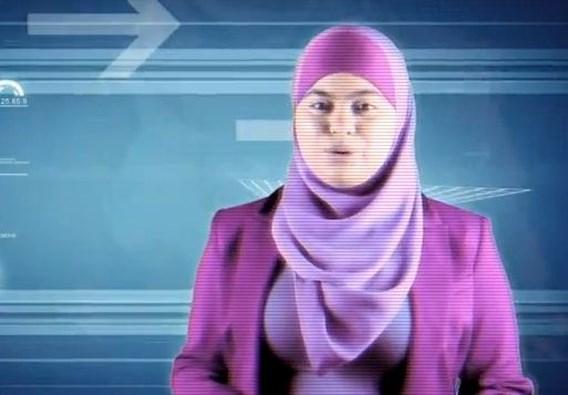Eerste presentatrice met hoofddoek op de Vlaamse televisie