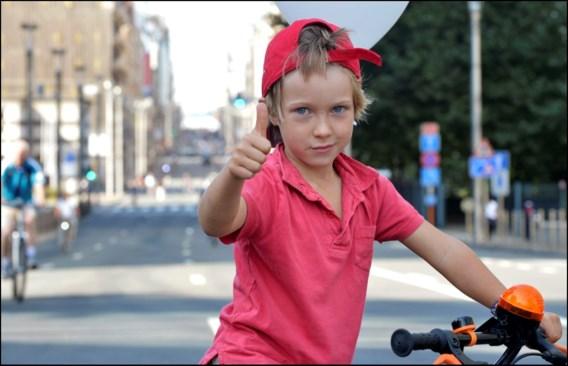 Autoloze zondag overweldigend succes in Brussel