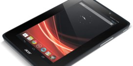 Kleine Acer-tablet komt niet naar België