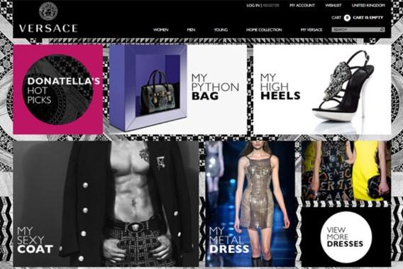 Versace opent Belgische webshop