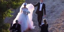 Anne Hathaway getrouwd in sprookjesachtige Valentino-jurk