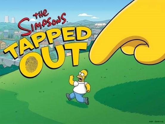Ook Simpsons klonen Farmville
