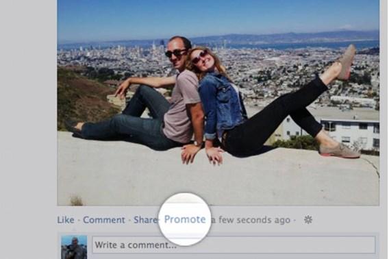 Promoot uzelf op Facebook tegen betaling