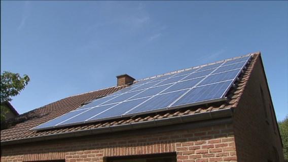 Vlaamse regering verlaagt steun voor zonnepanelen