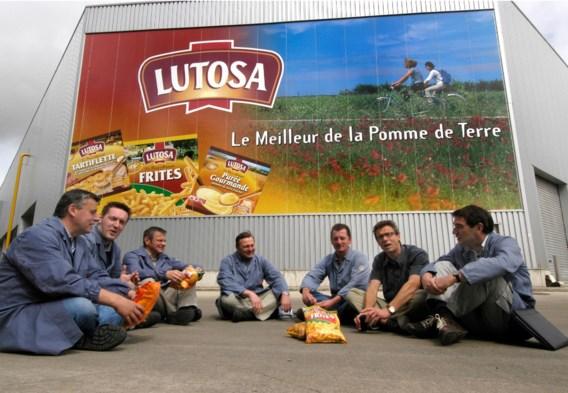 Lunchpauze bij de arbeiders van PenguinLutosa.