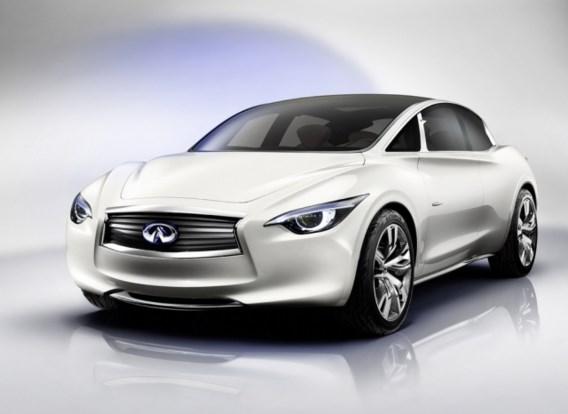 Infiniti bouwt compacte luxewagen zelf