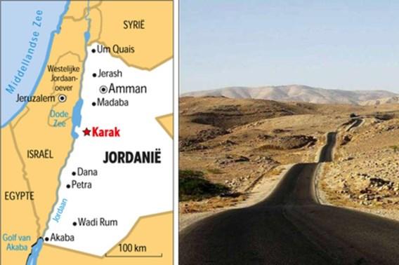 Vier Belgen komen om bij busongeval in Jordanië
