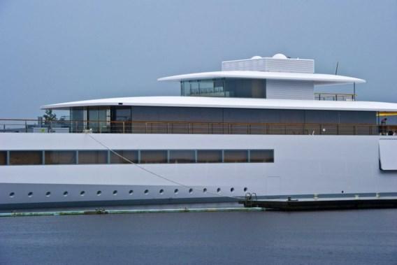 Jacht van Steve Jobs te water gelaten in Nederland