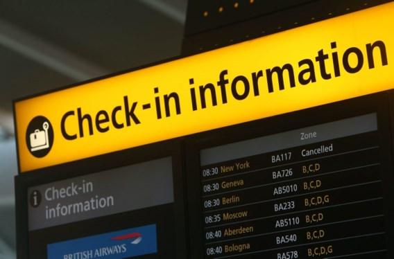 Zo goed als alle vluchten vanop Brussels Airport naar VS geannuleerd