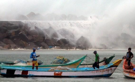 Cycloon Nilam doodt zeven mensen in India
