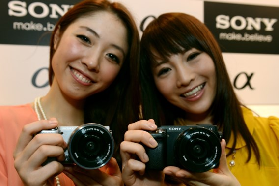 Hogere verkopen Sony drukken verlies