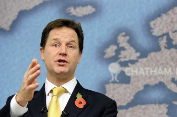 Clegg waarschuwt voor 'Brexit'
