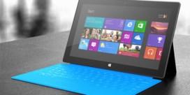 Verkoop Surface-tablet kent bescheiden start