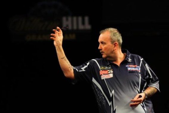 Phil Taylor zal Grand Slam of Darts niet winnen