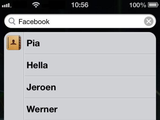 Prioriteiten van iPhone-zoekfunctie aanpassen