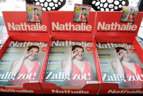 """Nathalie Meskens is """"Zalig zot"""" in eenmalig eigen magazine"""