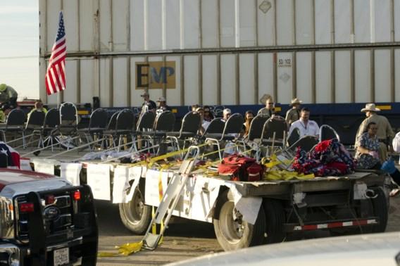 Vier doden nadat trein inrijdt op parade in Texas
