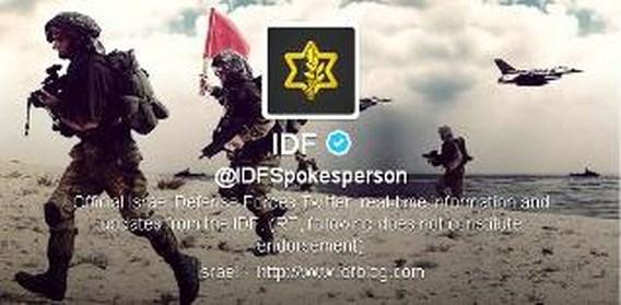 Palestijnse Hamas en defensie van Israël vechten ook op Twitter