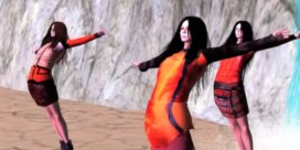 Modelabel stunt met avatarmodellen
