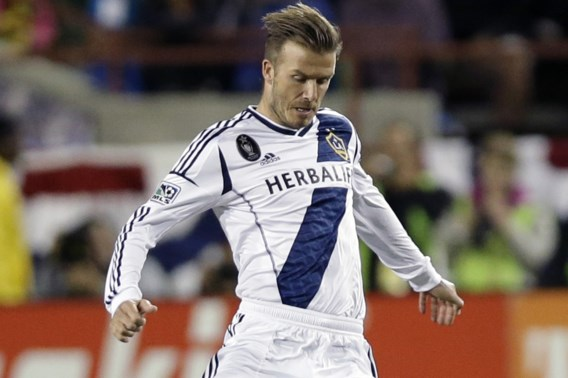 Wordt David Beckham ploegmaat van Stein Huysegems?