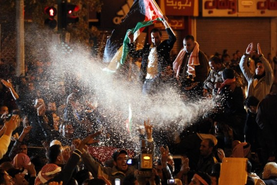 Jordaniërs eisen vertrek koning Abdullah II