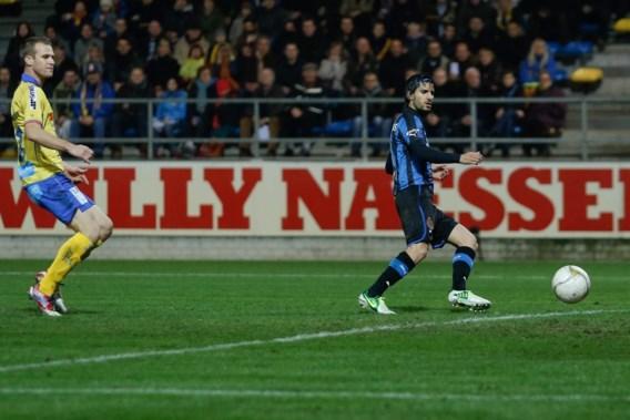 Garrido debuteert bij Club Brugge met zes goals