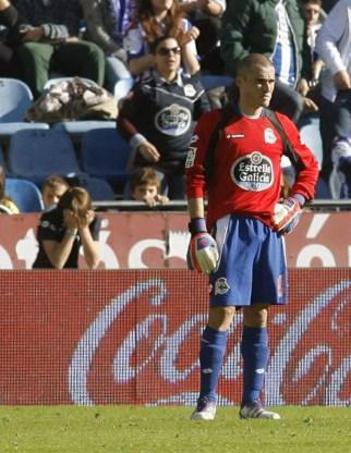 Supporters steunen geplaagd Deportivo La Coruna met erehaag