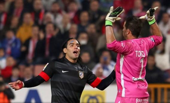 Thibaut Courtois blijft in het zog van Barcelona