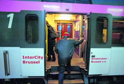 De Belgisch-Nederlandse grens per trein oversteken wordt weer wat moelijker.