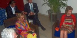 Sean Penn duikt op naast prinses Mathilde