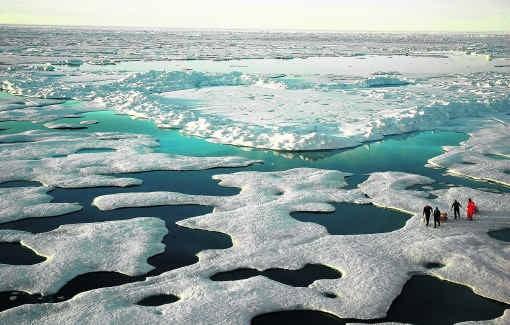 Het ijs op de (Canadese) Noordelijke IJszee blijft razendsnel smelten. Toch neemt ook Canada niet deel aan KyotoII.