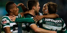 Topgoal van Wolfswinkel helpt Sporting niet aan overwinning stadsderby
