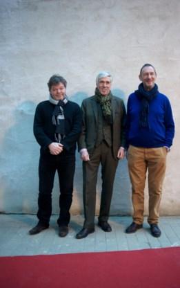Van links naar rechts: Koen De Vylder, Pierre van den Wouwer en Rik.