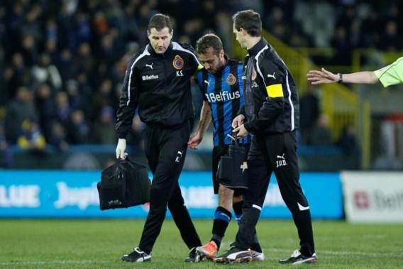 Zware knieverstuiking voor Club Brugge-middenvelder Jonathan Blondel