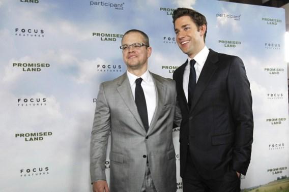 Matt Damon ontkent homogeruchten niet