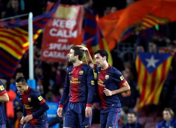 PRIMERA DIVISION. Messi heeft geen kind aan Courtois, Espanyol houdt Real in bedwang