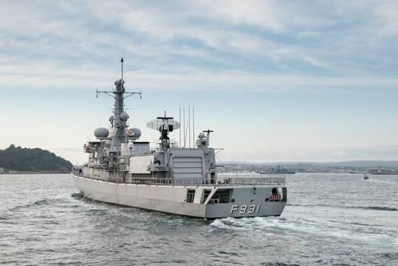 Belgisch fregat Louise-Marie onderschept piraten voor Somalische kust