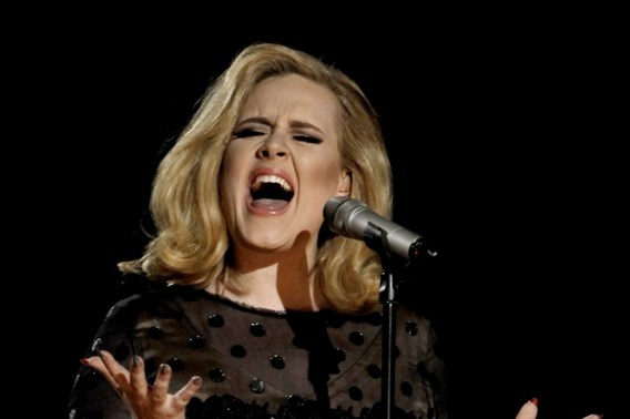 'Adele maakt hits in minder dan tien minuten'