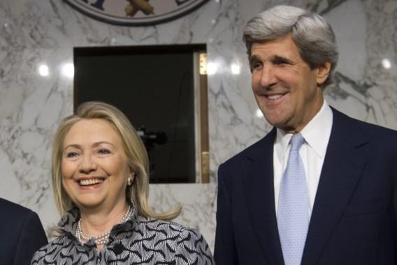 'Kerry volgt Clinton op als minister van Buitenlandse Zaken'