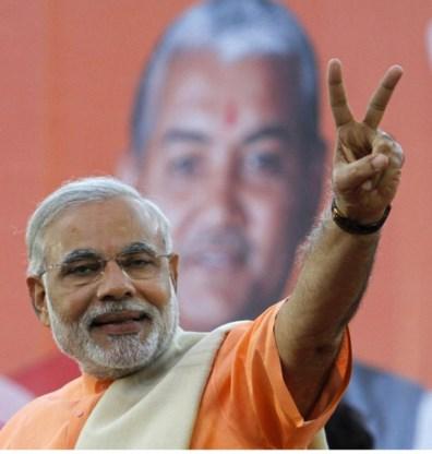 Wordt Narendra Modi straks premier van India?