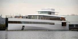 Beslag gelegd op jacht Steve Jobs in Amsterdam