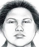 Een politietekening van beschuldigde Erika Menendez.