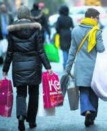 Op zondag worden duurdere producten gekocht.