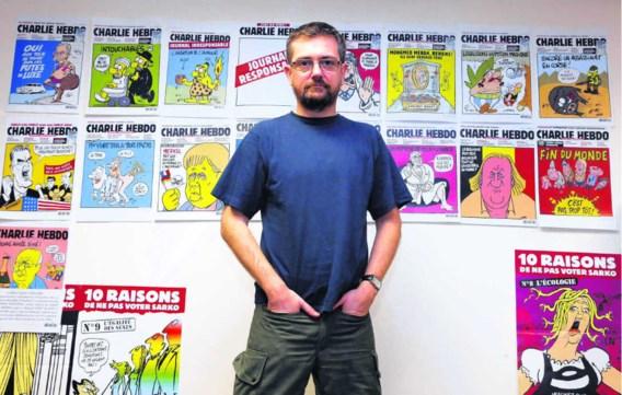 <P>Directeur 'Charb', voor een selectie van covers van Charlie Hebdo: 'Ons nummer met Gérard Depardieu verkocht ook veel beter dan andere. Maar niemand zegt dan: je verdient geld over de rug van Depardieu. Nee, alleen als het over de islam gaat, krijgen we dat verwijt.' </P>