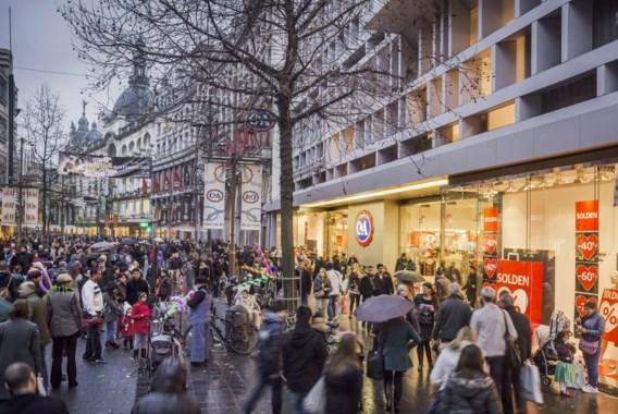 Meir klopt voor het eerst Nieuwstraat als drukste winkelstraat