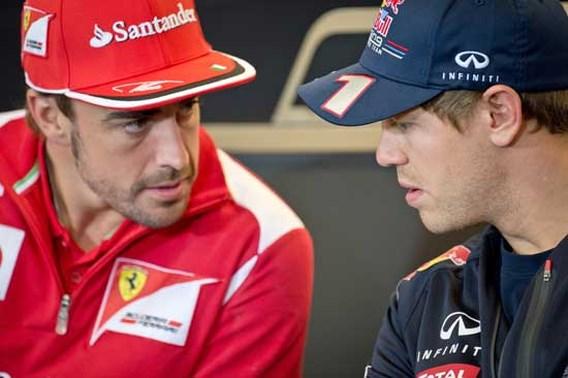 Red Bull en Alonso bekvechten nu al over het nieuwe F1-seizoen
