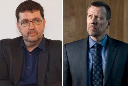 Wouter Van Besien (links) dient klacht in tegen Herman Dams (rechts)