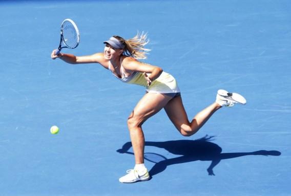 Maria Sharapova staat met 'double bagel' in tweede ronde Australian Open