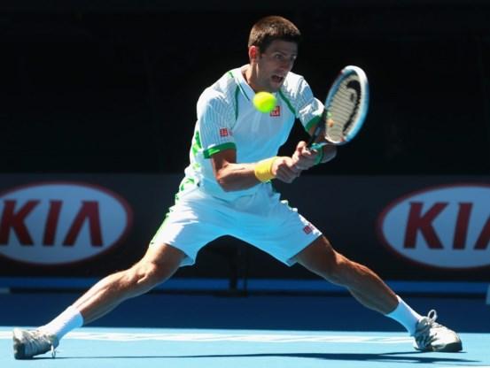 Titelverdediger Djokovic vlot door op Australian Open